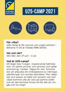 Länk till U25-camp inbjudan gul 2021
